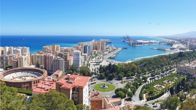 Cityview Malaga haven en arena
