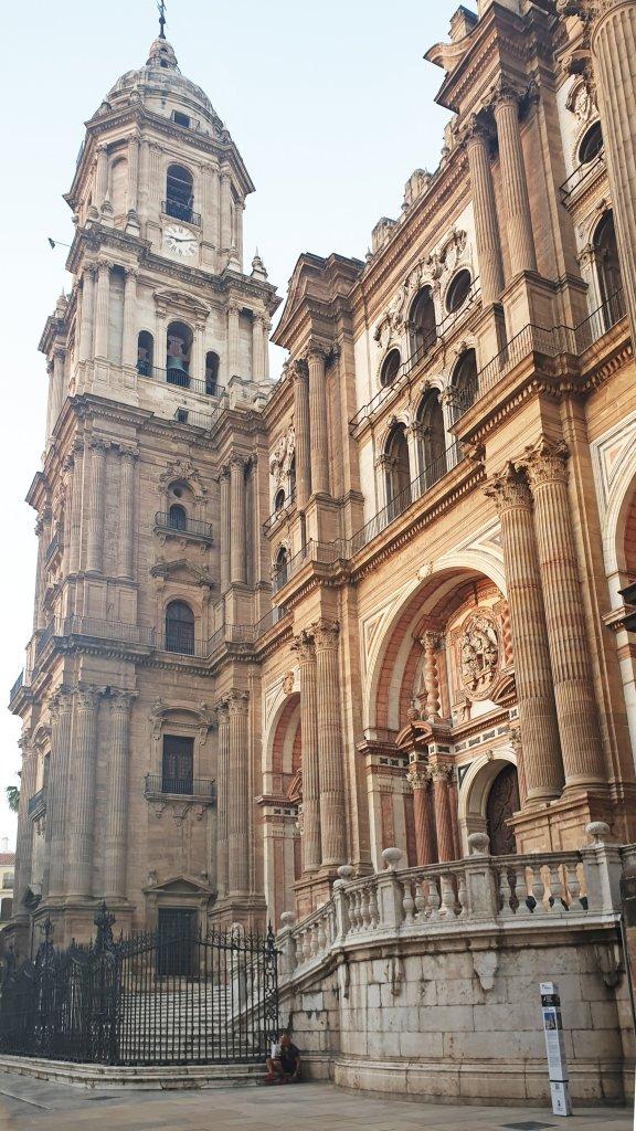 Kathedraal Malaga roadtrip Zuid-Spanje