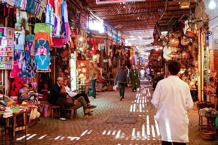 Markt medina Marrakech