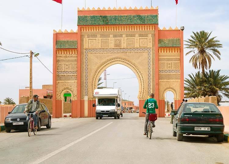 Roadtrip Marokko camper en fietser