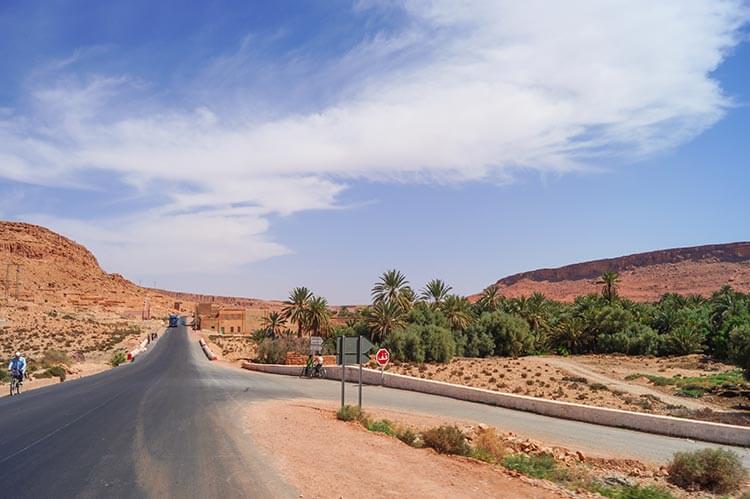 Roadtrip Marokko snelweg
