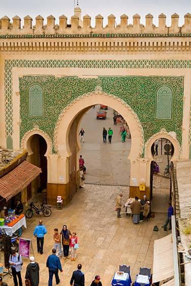 Stadspoort medina Fez