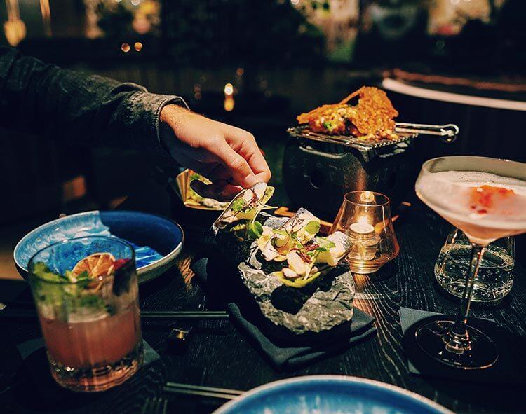 Shared dining bij restaurant Vandal in Rotterdam