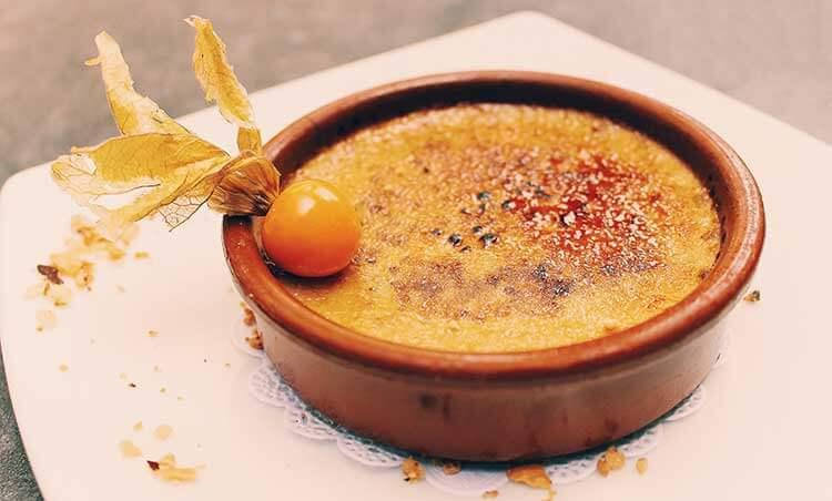 Culinaire reis door Spanje - crema catalana
