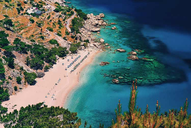 Bounty stranden europa
