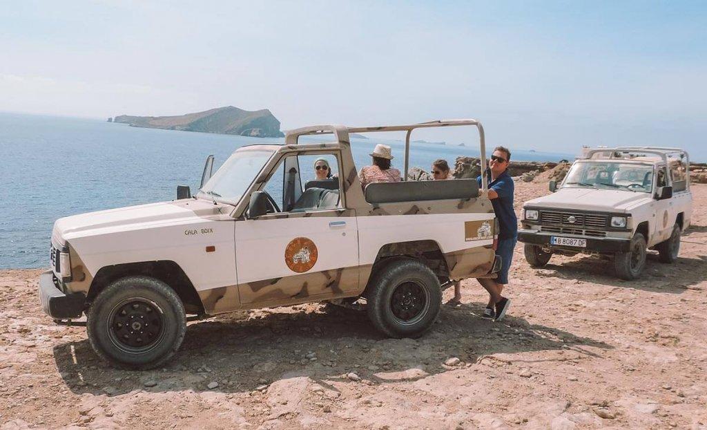 Jeepsafari op Ibiza