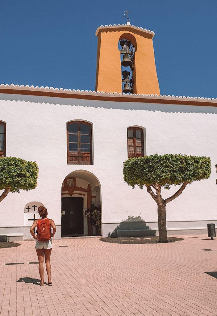 Santa de Gertrudis de Fruitera op Ibiza